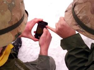 AFT umożliwia zarządzanie polem walki za pomocą smartfonów i pozostałych urządzeń mobilnych z systemem Android (źródło: www.nam.mil.pl)