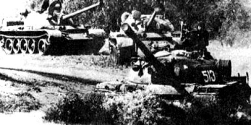 NVA T-54s