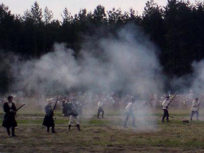 Ignacewo - Inscenizacja walk z 1863 r.