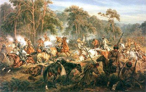 Kossak - Bitwa pod Ignacewem