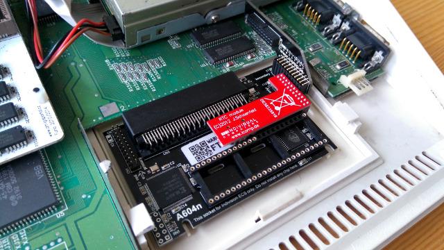 Rozszerzenie pamięci A604n dla Amigi 600